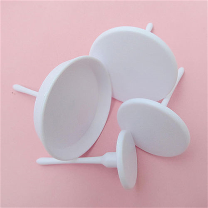1Set 4PCS New Sugarcraft Cupcake Cake Stand Icing Cream Flower Decorating Nail Set Tool in Stands from Home Garden