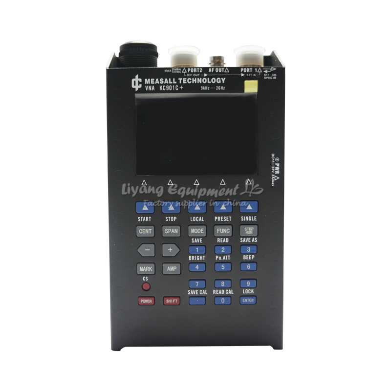 Vector network analyzer 9KHz-2GHz frequency range KC901C+
