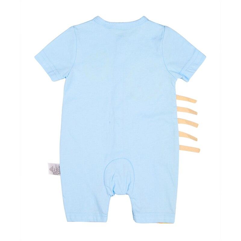 Katoenen Giraf Baby Rompertjes Ronde Hals Babykleding Jongen - Babykleding - Foto 2