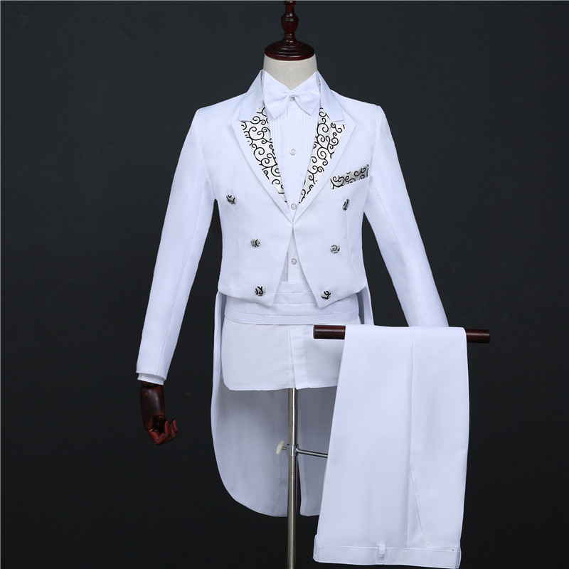 Tuxedo magic wedding prom trajes formales novio ropa de hombre - Ropa de hombre - foto 3