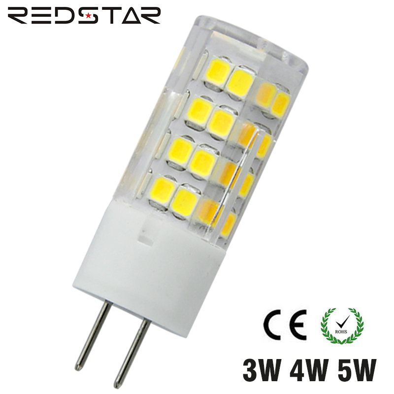 GY6.35 LED Light Bulb Bi Pin JC Type LED Light Bulb 3W 4W