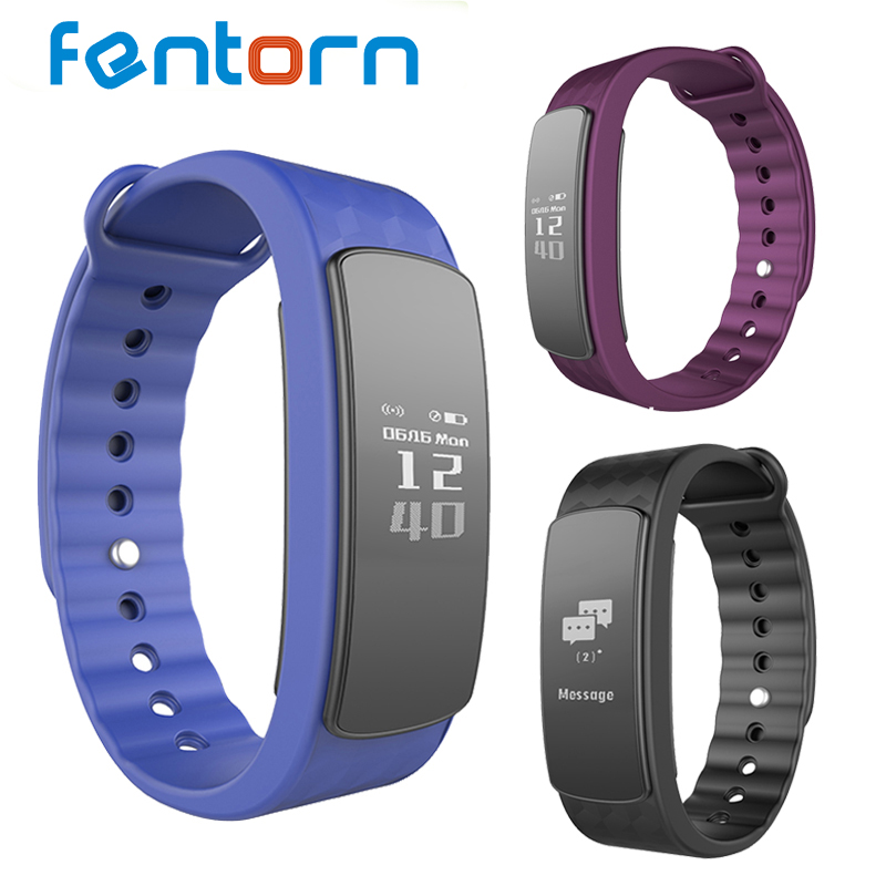 Fentorn Original I3HR Smart band Bracelet Support Heart Rate Monitor Message Push Fitness tracker Wristband Sports