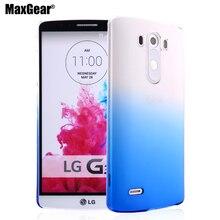 Новый Градиент Цвета Прозрачный Защитный Телефон Случаях Корпуса Для LG G2/G3/G4/G5 ТПУ Кремния Мягкий Назад крышка