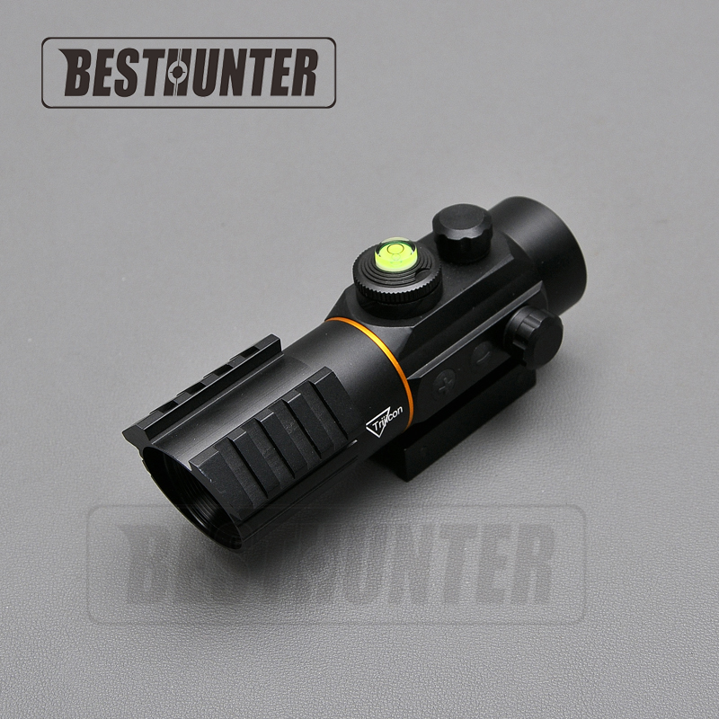 Trijicon 3X42 Red Dot Tactical Sight Scope Fit Rail Mount 11mm/20mm Riflescope Hunting Shooting Gun Sight