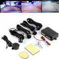 4 Car Parking Sensors sensor Car Backup Reverse Radar Rearview Mirror Sound Alert Set Hot Sale