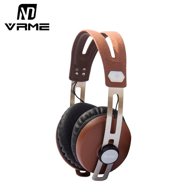 Vrme Headband Headphone Stereo Gaming DJ Headset With HD Microphone for MP3 MP4 Computer Smart Phones