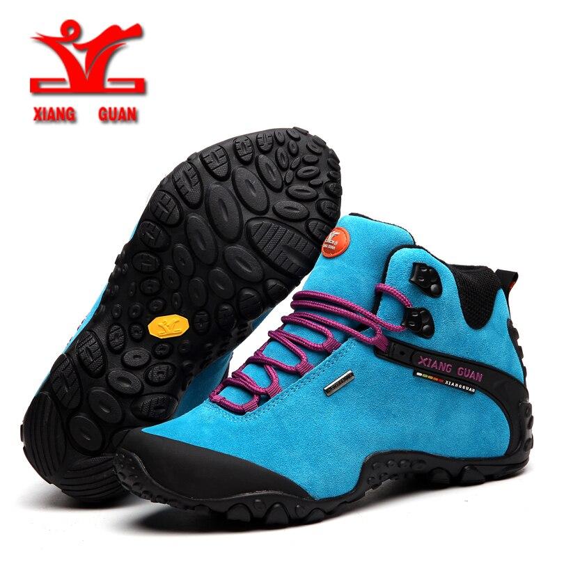 Женские ботинки XIANGGUAN, водонепроницаемые походные ботинки для охоты, альпинизма, 2018