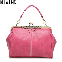 Women Handbags Vintage Nubuck Leather Messenger Bags Top Quality Female Hand Bags TLR117
