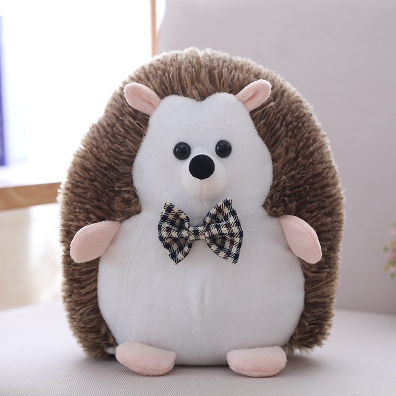 1pc 20cm Sot Kawaii Couples Hedgehog Plush Toys Staffed Lovely Animal Plush Dolls Home Wedding Party Toys For Kids Gift