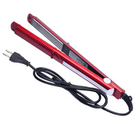 Free Shipping 2016 Temperature Control Hair Straighteners 220 240V Straightening Corrugated Iron Styling Tools