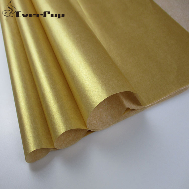 Us 12 38 9 Off 40pcs Tissue Wrapping Paper Gift Wrap Tissue Paper Flower Shoes Clothes Wrapping Paper Size 50x66cm Gold Silver In Craft Paper From