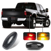 Keyecu Red Amber Front And Rear Side Fender Marker Lights For 1999 2012 Chevy Gmc Dually