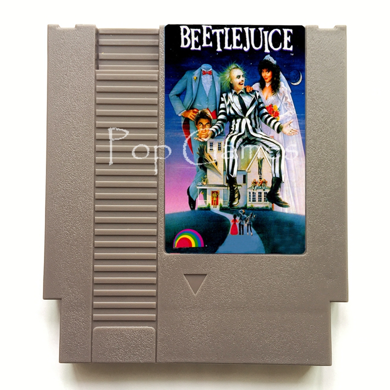 Beauty and the Beast 72 Pin  Game Cartridge for 8 Bit Video Game Console Region Free English Language