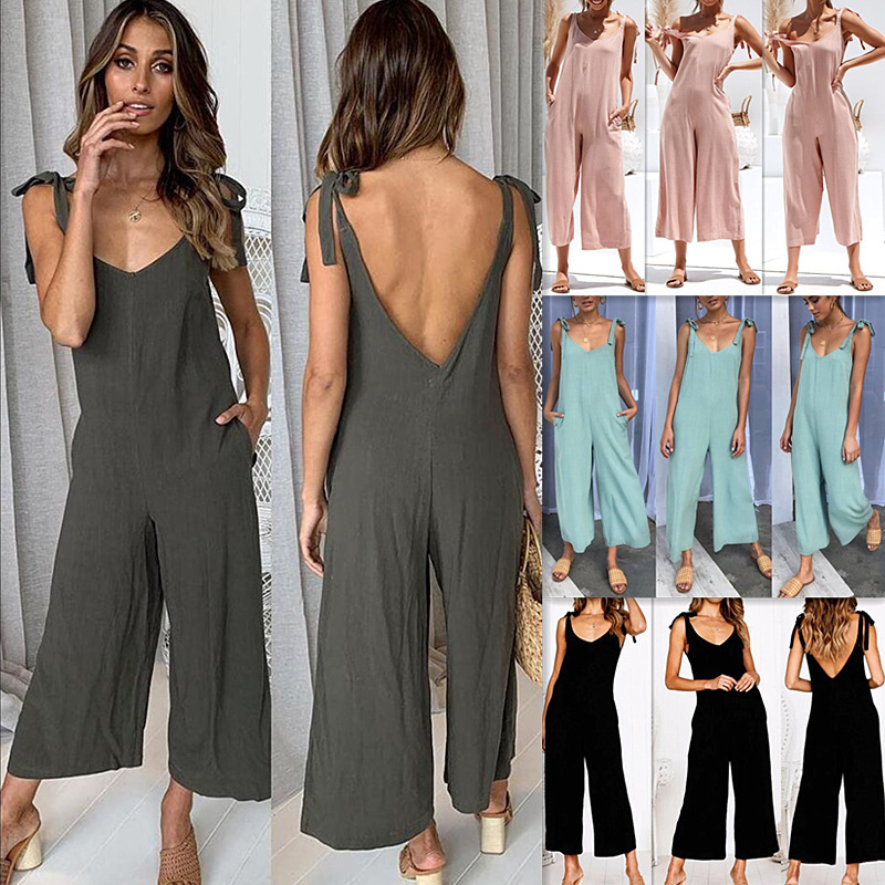 2019 spring and summer new style, sexy nightclub style, fashion women's sexy   jumpsuit   with straps, free shipping