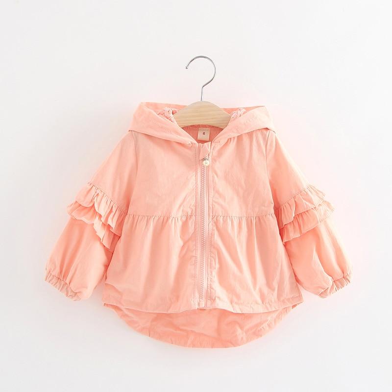 d5e34bf9eaa1 New Girls Coat Kids Korean Autumn Trench Coats for Girls Jacket 0 3 ...