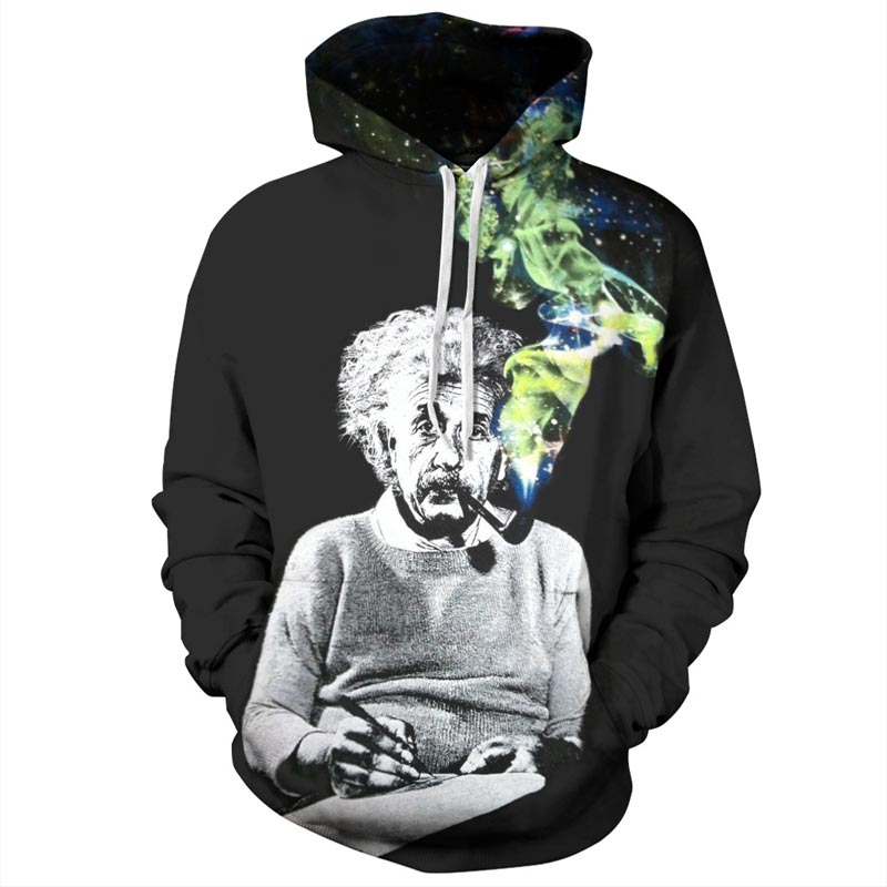 Einstein Hoodies Men/Women Sweatshirts 3d Print Einstein Smoking Thin Einstein Smoking Thin hoodies HTB1e3j9QXXXXXXWaXXXq6xXFXXX6