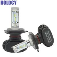 H11 880 9007 H3 H4 Hi Lo LED Car Headlight Bulb 50W 8000lm 6500K All In