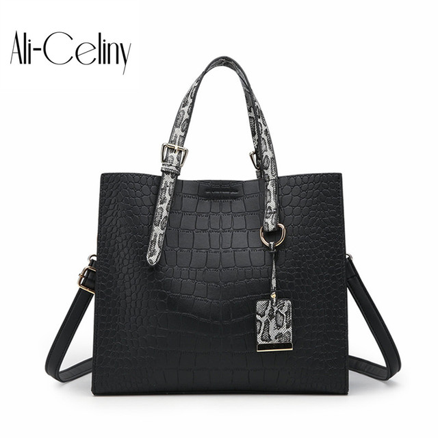 804bbe73a1c1 2018 New Stone grain serpentineWomen Bag Handbags Women Messenger Bags  Crossbody Shoulder Bags Ladies Women Leather Handbags