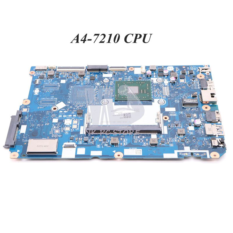 NOKOTION For <font><b>Lenovo</b></font> <font><b>ideapad</b></font> <font><b>110</b></font>-15ACL Laptop <font><b>motherboard</b></font> A4-7210 CPU 5B20L46291 CG521 NM-A841 Main board full tested image