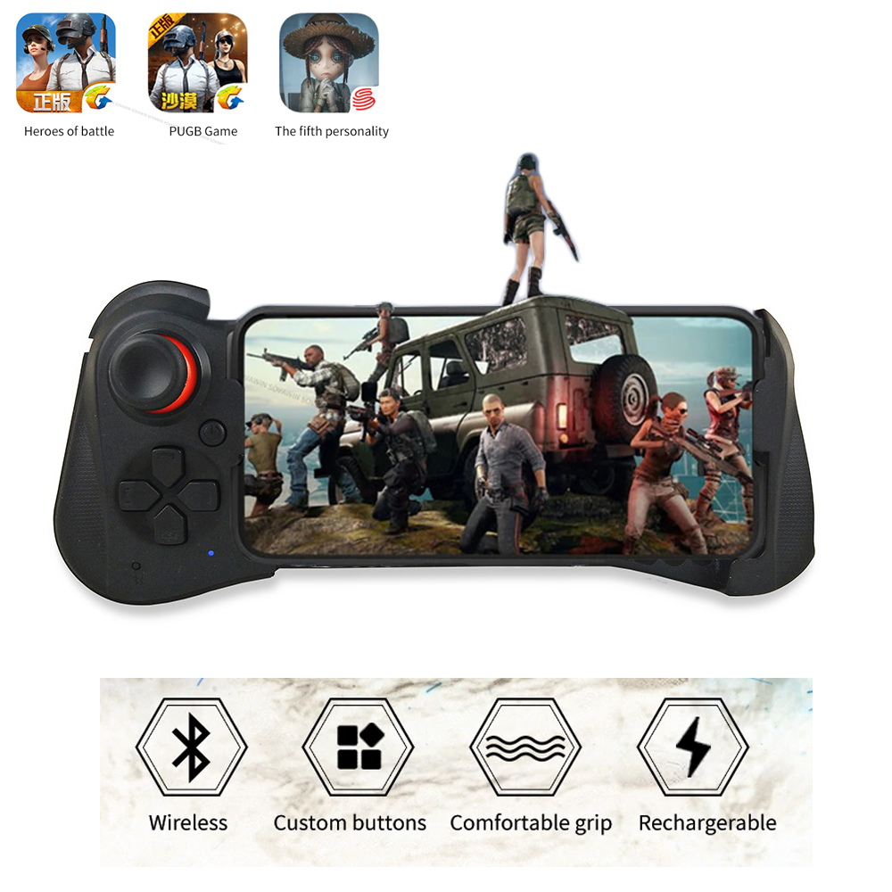Mocute 058 Wireless Gamepad Bluetooth Android Joystick VR Telescopic Gaming Controller Support