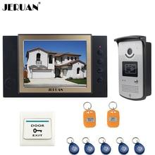 JERUAN Home Security 8″ TFT Video Door Phone Doorbell Entry Intercom System Video Recording photo taking