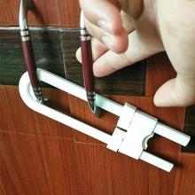 2/4/12pcs 1 Set U-shaped Lock Child Safety Cabinet Closet Door Latches for Baby Safe Locks