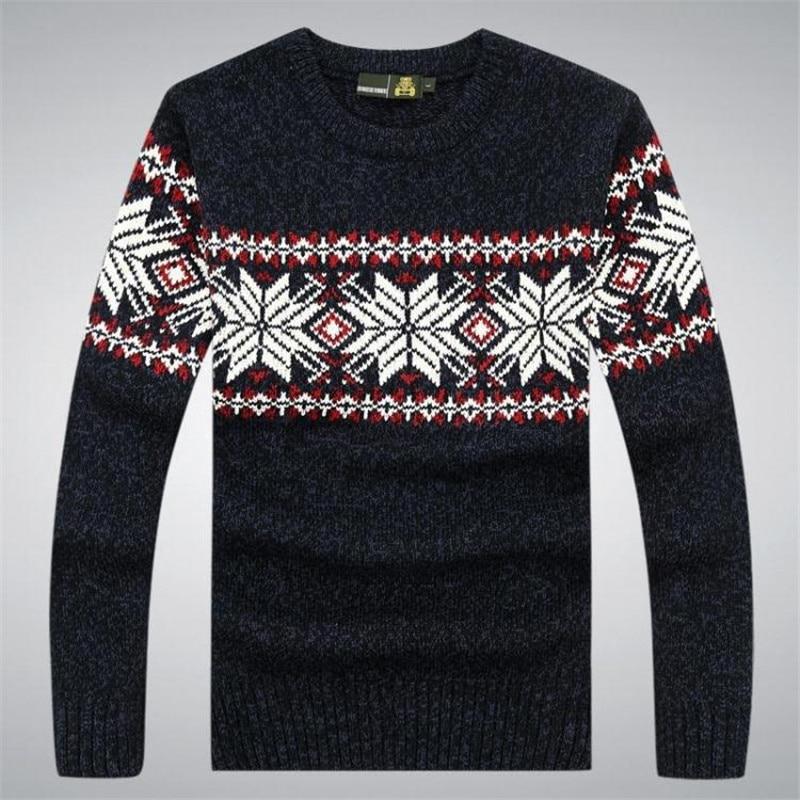 100% pamut őszi téli pulóver férfi ruházat Pulóver pulóverek - Férfi ruházat