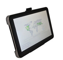 Cheapest 7 inch auto GPS navigation DDR 128 MB 2014 Navitel 8 5 maps for Russia