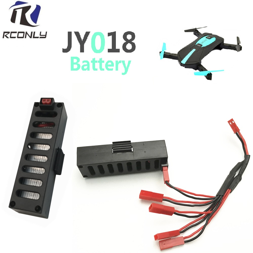 Charger sets with Mini Drone JY018 BATTERY RC Helicopter Accessories Battery For GW018 EACHINE 3.7 V 600 mah Battery vs swellpro all in one smart balance battery charger for rc helicopter drone with camera splash waterproof drone fast