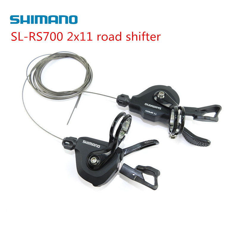 Shimano rs700 sl-RS700 2x11 speed Flatbar Road Bike bicycle Shifter Lever Set - Black