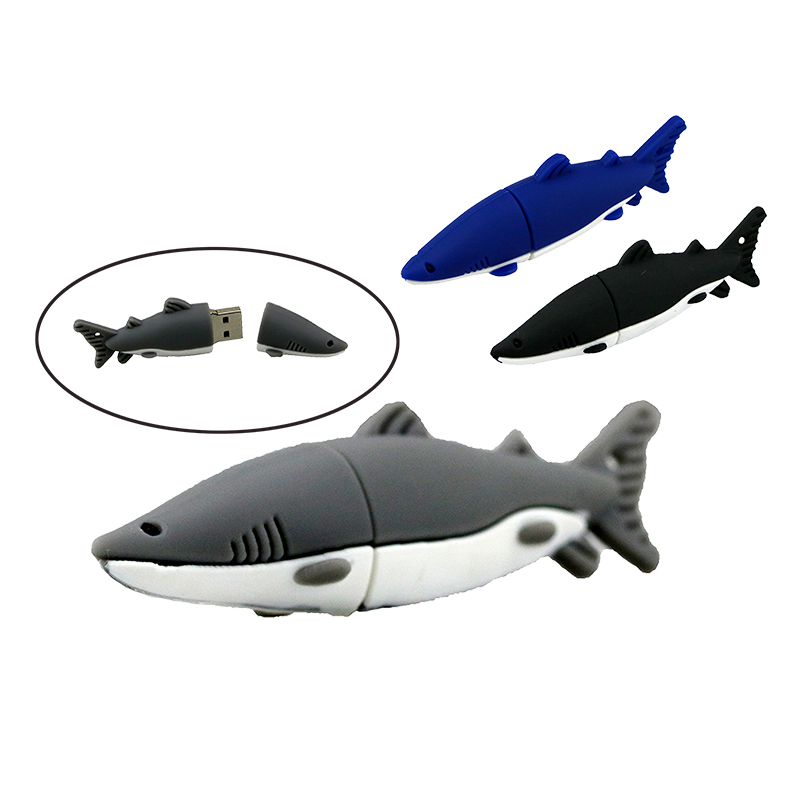 Computer & Office Usb Flash Drives 2019 New Style Mini Cute Cartoon Shark Usb Flash Drive 32gb 16gb 8gb 4gb 64gb Memory Stick Pendrive Usb Stick Pen Drive Flash Card Lovely Gift