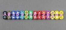 100 sztuk/partia kolorowe dla Nintend przełącznik Joy con kontroler 3D analogowy Joystick Cap silikonowy pokrywy skrzynka dla NS przełącznik joy con