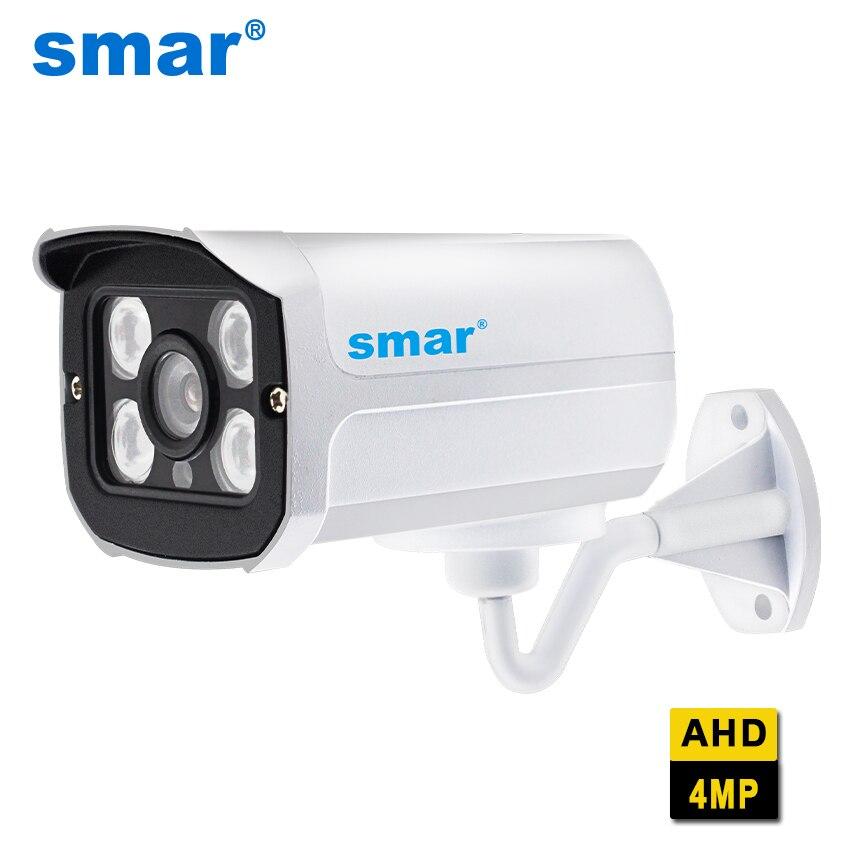 Smar супер видеонаблюдения HD 2560*1440 4MP AHD Камера открытый Водонепроницаемый безопасности Видео Камеры Скрытого видеонаблюдения 4 ИК-Массив Инф...