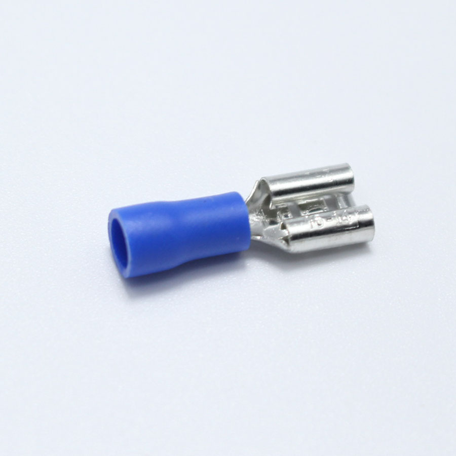 20pcs 6.3mm Crimp Terminal 6.3 Female Pre insulated Electrical ...