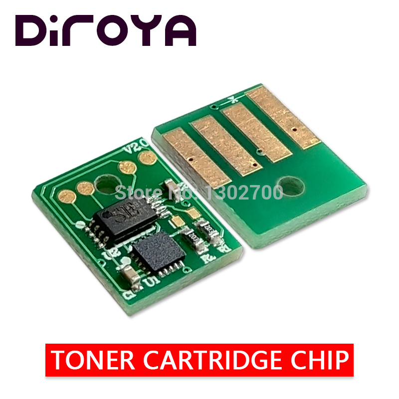 2PCS MEA 25K 52D5H00 525H Toner Cartridge chip for lexmark MS710 MS711 MS810 MS811 MS812 MS710n
