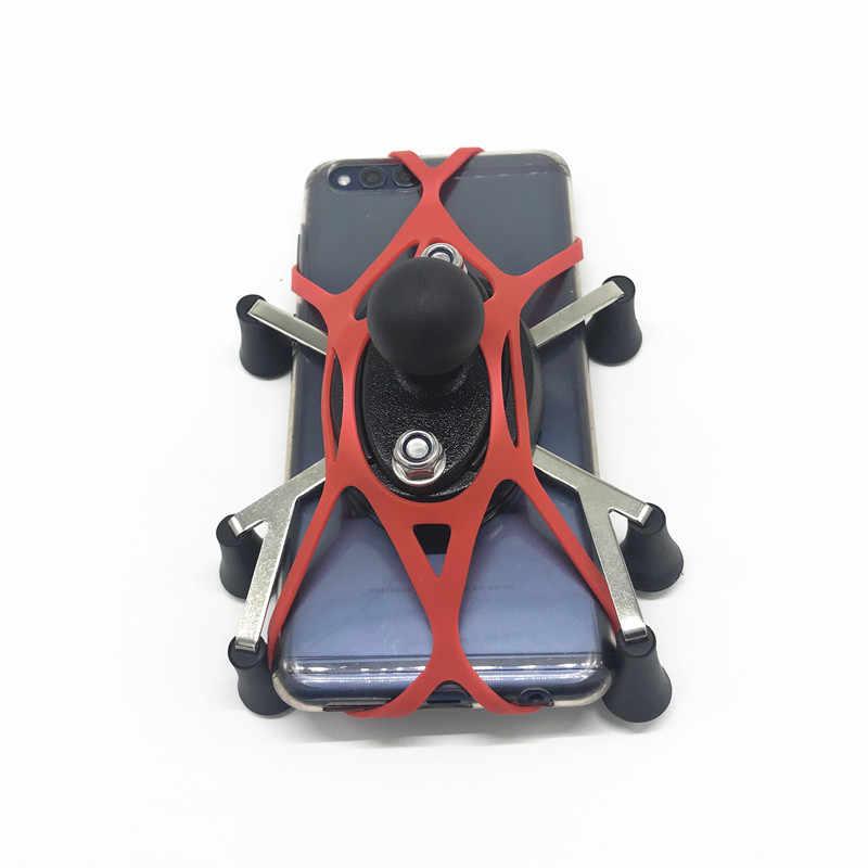 Texel WebGrip безопасности троса для Крепления RAM 1 дюймов мяч x grip телефон Смартфон колыбели держатель