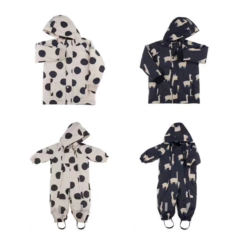 2018 BABY GIRL CLOTHES christmas gifts boys clothing girls tiny cottons clothes baby rompers coat jackets winter clothing lama 2017 summer kids panda rompers baby boy clothing baby rompers baby girl clothes kikikids vestidos girls clothing boys clothing