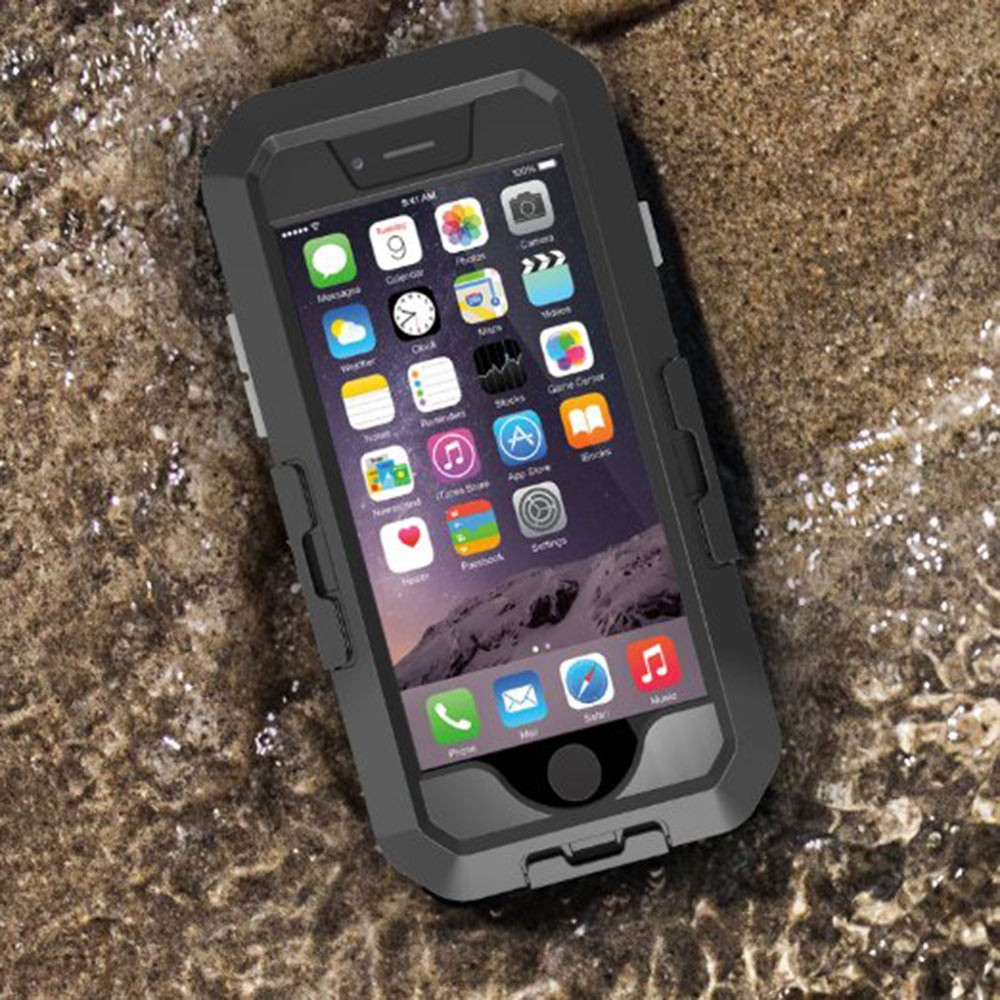 Bike Holder Case IP 68 Underwater Waterproof Shockproof Snowproof Dirtpoof Protection Case Cover for iPhone 6plus with Box