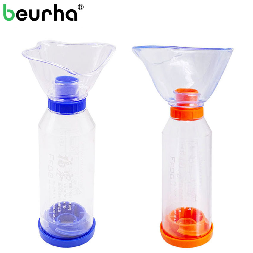 Beurha Health Care Family Medicine Household Compressor MDI Inhalator Therapy With Mask Absorbing Device for Adult Child Size