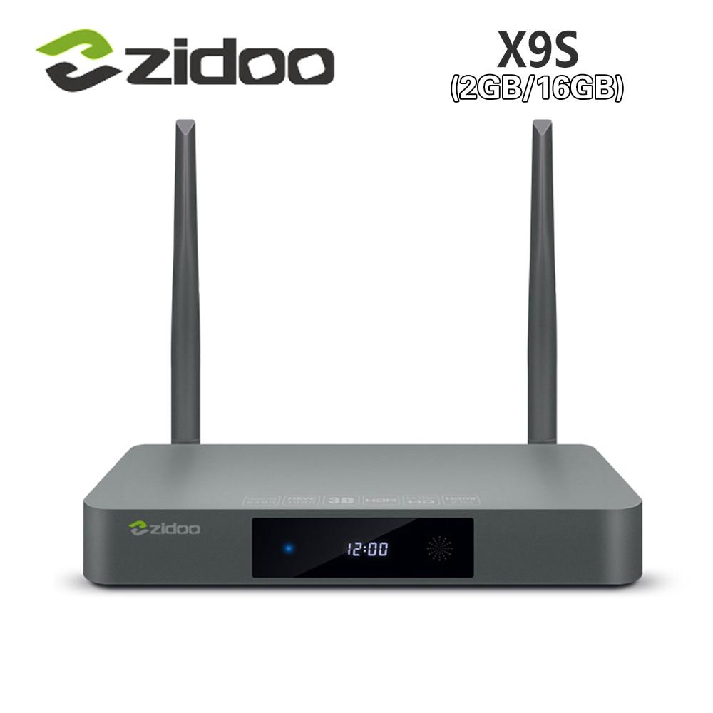 Original ZIDOO X9s TV BOX Android 6.0 + OpenWRT(NAS) Realtek RTD1295 2