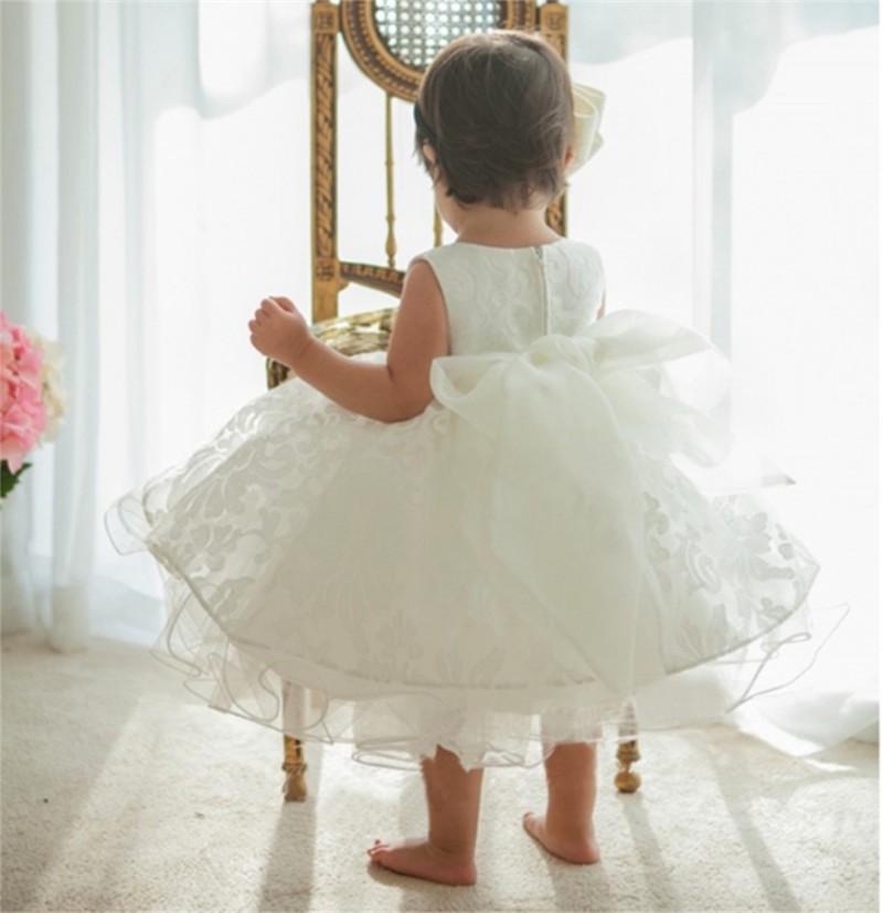 Newborn Bow Dress Baby Girl (6)