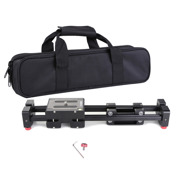 Pro DSLR Camera Track Dolly Slider Video Stabilizer with 1/4 and 3/8 Thread Screw for Cameras DV ,Max 29.5 inch/75CM Length no name скоба предохранителя мр 43е