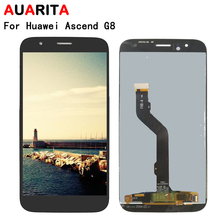 LCD For Huawei G8 GX8 RIO-L01 RIO-L02 RIO-L03 lcd display screen touch panel screen digitizer with frame assembly replacement n184h3 l02 fit n184h3 l01 18 4 lcd 1920 1080 lcd led screen panel 1 ccfl 1 lamp