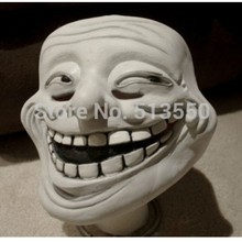 New Year Surprise Latex Troll Face Mask for Fancy Dress Halloween latex mask Dress Up kimberly clark childs face mask w stretchable earloops 75 box latex free