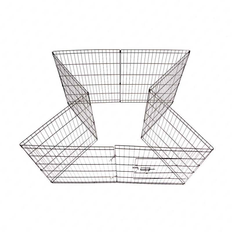 36-Tall-Wire-Fence-Pet-Dog-Cat-Folding-Exercise-Yard-8-Panel-Metal-Play-Pen-Black_7_800x800