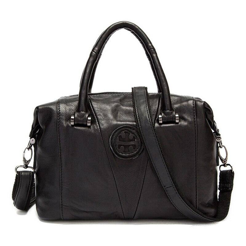 Fashion genuine Leather Crossbody Bag Vintage Women Messenger Bag Shoulder Bag Large Women Handbag 8380#