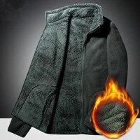 5XL Men Women Winter Plus Velvet Thicken Warm Coat Outdoor Sport Climbing Fishing Riding Hiking Windproof Thermal Fleece Jacket