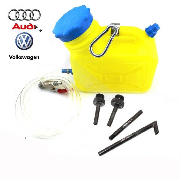 Auto CVT/DSG Transmission Oil Refilling Tool Kit Including 13Pcs Oil Filling Adaptor For VW AUDI BMW BENZ Ford VOLVO HONDA
