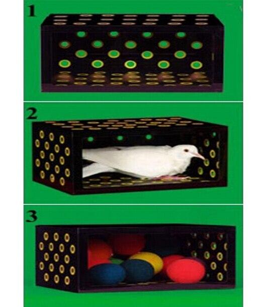 Boîte noire (super), boîte mystique magic trick, gimmick, magie de scène, illusions, magie colombe, accessoires
