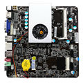 Ultra-fino Mini itx Motherboard Construído em Dual-core CPU APU e350 HD6310 VGA RJ45 HDMI USB mSata usar 12-19 V DC